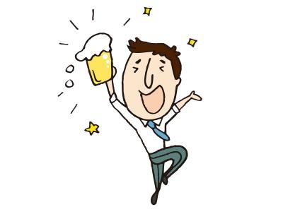 s_ビールで乾杯
